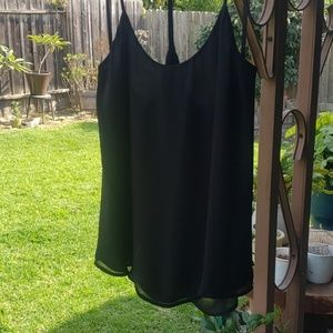 Sheer tank or camisole.